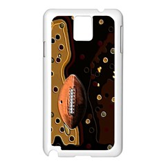Football Samsung Galaxy Note 3 N9005 Case (white) by Contest1852090