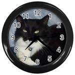 erinscat Wall Clock (Black)
