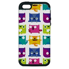 Cats Apple Iphone 5 Hardshell Case (pc+silicone) by Contest1771913