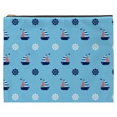 Summer Sailing Cosmetic Bag (xxxl) by StuffOrSomething