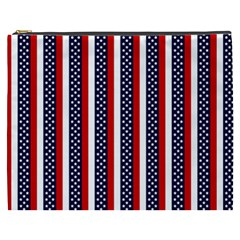 Patriot Stripes Cosmetic Bag (xxxl) by StuffOrSomething
