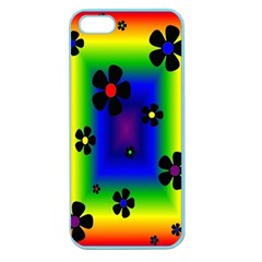Mod Hippy Apple Seamless Iphone 5 Case (color) by Rbrendes