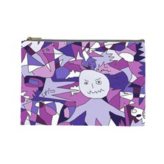Fms Confusion Cosmetic Bag (large) by FunWithFibro