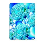 Blue Ice Crystals, Abstract Aqua Azure Cyan Samsung Galaxy Tab 2 (10.1 ) P5100 Hardshell Case