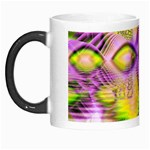 Golden Violet Crystal Heart Of Fire, Abstract Morph Mug