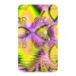 Golden Violet Crystal Heart Of Fire, Abstract Memory Card Reader (Rectangular)