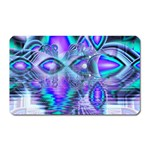 Peacock Crystal Palace Of Dreams, Abstract Magnet (Rectangular)