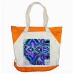 Peacock Crystal Palace Of Dreams, Abstract Accent Tote Bag