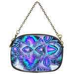 Peacock Crystal Palace Of Dreams, Abstract Chain Purse (Two Sided)