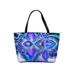 Peacock Crystal Palace Of Dreams, Abstract Large Shoulder Bag