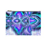 Peacock Crystal Palace Of Dreams, Abstract Cosmetic Bag (Large)