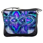 Peacock Crystal Palace Of Dreams, Abstract Messenger Bag