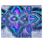 Peacock Crystal Palace Of Dreams, Abstract Cosmetic Bag (XXXL)