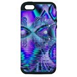 Peacock Crystal Palace Of Dreams, Abstract Apple iPhone 5 Hardshell Case (PC+Silicone)