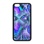 Peacock Crystal Palace Of Dreams, Abstract Apple iPhone 5C Seamless Case (Black)