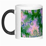 Rose Apple Green Dreams, Abstract Water Garden Morph Mug