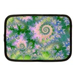 Rose Apple Green Dreams, Abstract Water Garden Netbook Sleeve (Medium)