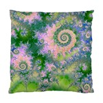 Rose Apple Green Dreams, Abstract Water Garden Cushion Case (Single Sided)