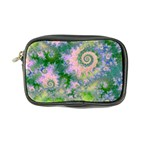 Rose Apple Green Dreams, Abstract Water Garden Coin Purse