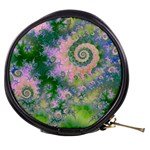 Rose Apple Green Dreams, Abstract Water Garden Mini Makeup Case