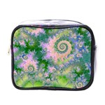 Rose Apple Green Dreams, Abstract Water Garden Mini Travel Toiletry Bag (One Side)