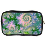 Rose Apple Green Dreams, Abstract Water Garden Travel Toiletry Bag (Two Sides)