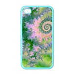 Rose Apple Green Dreams, Abstract Water Garden Apple iPhone 4 Case (Color)