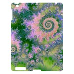 Rose Apple Green Dreams, Abstract Water Garden Apple iPad 3/4 Hardshell Case