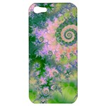 Rose Apple Green Dreams, Abstract Water Garden Apple iPhone 5 Hardshell Case