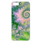 Rose Apple Green Dreams, Abstract Water Garden Apple iPhone 5 Seamless Case (White)