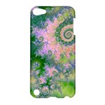 Rose Apple Green Dreams, Abstract Water Garden Apple iPod Touch 5 Hardshell Case