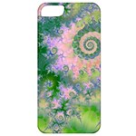 Rose Apple Green Dreams, Abstract Water Garden Apple iPhone 5 Classic Hardshell Case