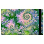 Rose Apple Green Dreams, Abstract Water Garden Apple iPad 2 Flip Case