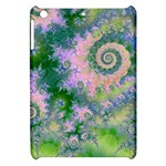 Rose Apple Green Dreams, Abstract Water Garden Apple iPad Mini Hardshell Case