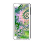 Rose Apple Green Dreams, Abstract Water Garden Apple iPod Touch 5 Case (White)