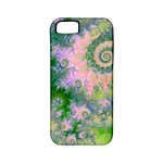 Rose Apple Green Dreams, Abstract Water Garden Apple iPhone 5 Classic Hardshell Case (PC+Silicone)