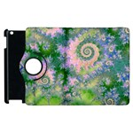Rose Apple Green Dreams, Abstract Water Garden Apple iPad 2 Flip 360 Case