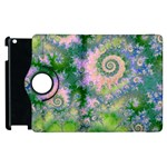 Rose Apple Green Dreams, Abstract Water Garden Apple iPad 3/4 Flip 360 Case