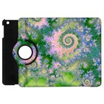 Rose Apple Green Dreams, Abstract Water Garden Apple iPad Mini Flip 360 Case