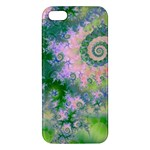 Rose Apple Green Dreams, Abstract Water Garden Apple iPhone 5 Premium Hardshell Case