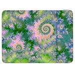 Rose Apple Green Dreams, Abstract Water Garden Samsung Galaxy Tab 7  P1000 Flip Case