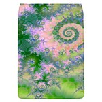 Rose Apple Green Dreams, Abstract Water Garden Removable Flap Cover (Small)
