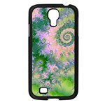 Rose Apple Green Dreams, Abstract Water Garden Samsung Galaxy S4 I9500/ I9505 Case (Black)