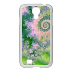 Rose Apple Green Dreams, Abstract Water Garden Samsung GALAXY S4 I9500/ I9505 Case (White)