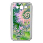 Rose Apple Green Dreams, Abstract Water Garden Samsung Galaxy Grand DUOS I9082 Case (White)