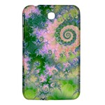 Rose Apple Green Dreams, Abstract Water Garden Samsung Galaxy Tab 3 (7 ) P3200 Hardshell Case
