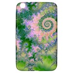 Rose Apple Green Dreams, Abstract Water Garden Samsung Galaxy Tab 3 (8 ) T3100 Hardshell Case