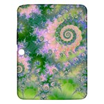 Rose Apple Green Dreams, Abstract Water Garden Samsung Galaxy Tab 3 (10.1 ) P5200 Hardshell Case