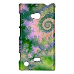 Rose Apple Green Dreams, Abstract Water Garden Nokia Lumia 720 Hardshell Case