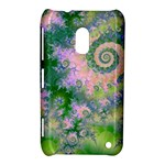 Rose Apple Green Dreams, Abstract Water Garden Nokia Lumia 620 Hardshell Case